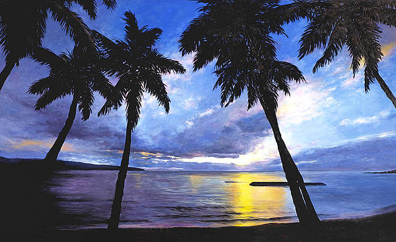Stacy Vosberg - Haleiwa Sunset