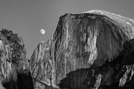 Kevin Reilly - Half Dome and Full Moon