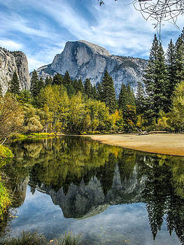 John Haldane - Half Dome Reflected in the Merced River