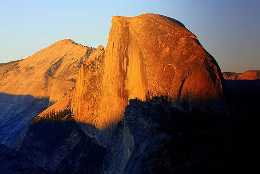 Anne Barkley - Half Dome Sunset Yosemite