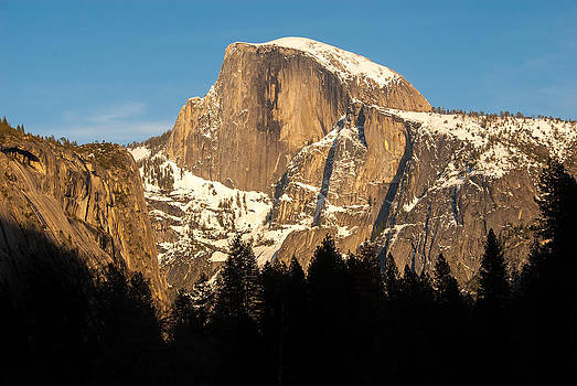 Half Dome - Winters End by Michael Newcomb