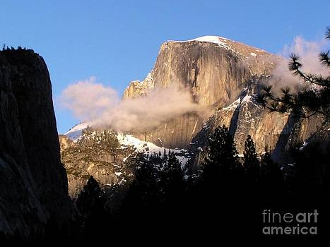 Christine Stack - Half Dome with Snow