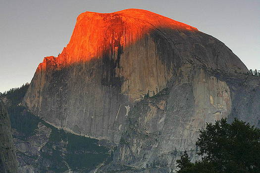Anne Barkley - Half Dome Yosemite Valley Sunset