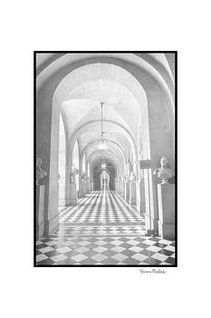 Hall At Versailles by Ramona Murdock