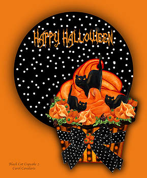 Carol Cavalaris - Halloween Black Cat Cupcake 2