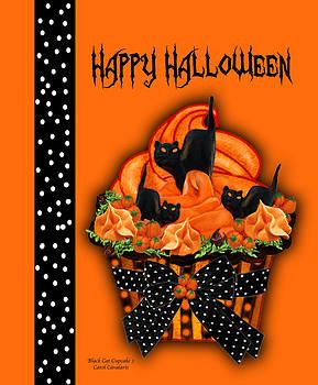 Carol Cavalaris - Halloween Black Cat Cupcake 3