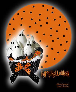 Carol Cavalaris - Halloween Ghost Cupcake 2