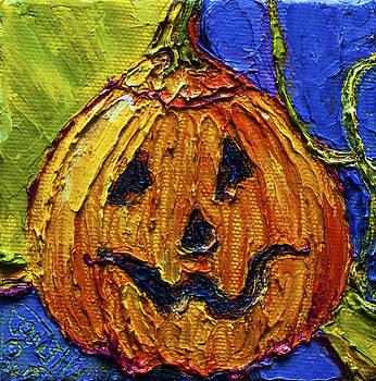 Halloween Jack-O-Lantern by Paris Wyatt Llanso