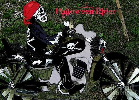 Gail Matthews - Halloween Motorcycle Rider