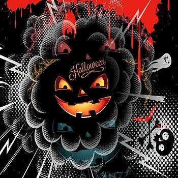 Halloween Pumpkin Harvest by Daryl Macintyre