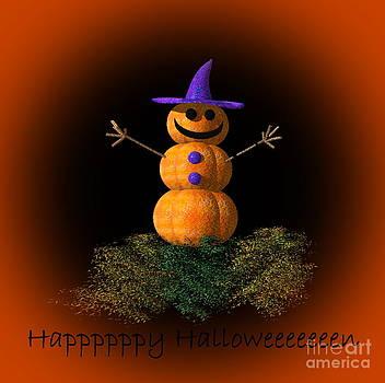 Eva Thomas - Halloween Pumpkin Man