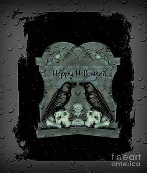 Eva Thomas - Halloween Raven Decoration