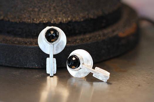 Halo Earrings by Kelly Clower