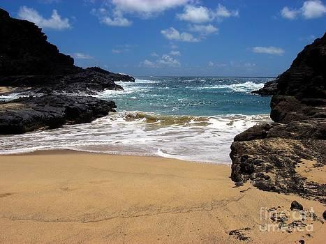 Christine Stack - Halona Cove Beach