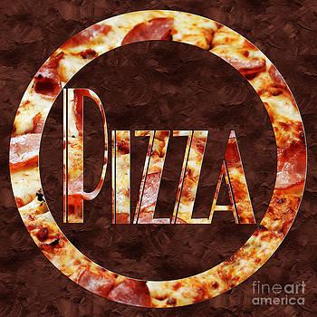 Andee Design - Ham Pizza Typography Square 1