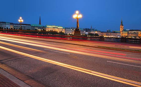 Hamburg City Lights by Marc Huebner