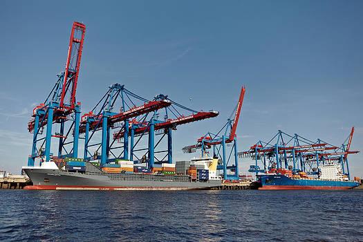 Jay Evers - Hamburg - Container Terminal Burchardkai