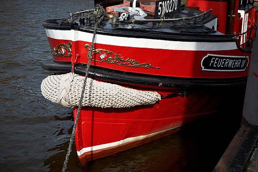 Jay Evers - Hamburg - Firefighting Boat