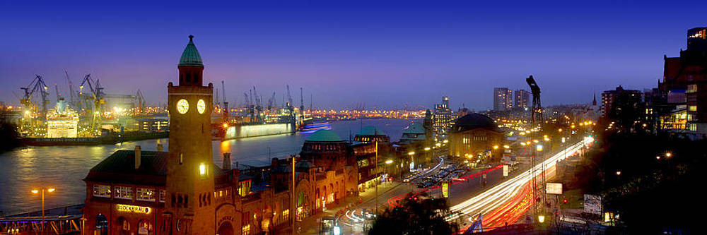 Hamburg Landing Stages by Marc Huebner