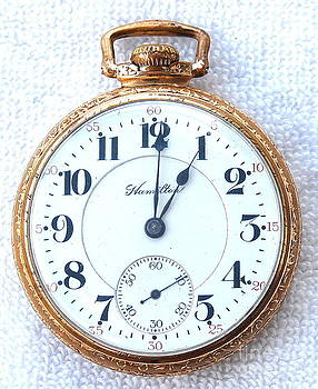 Linda Rae Cuthbertson - Hamilton Pocket Watch