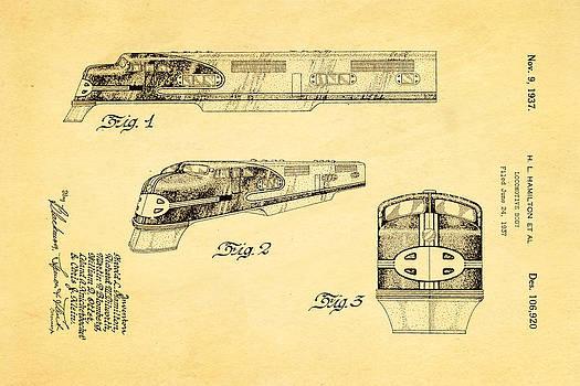 Ian Monk - Hamiton Locomotive Patent Art 1937