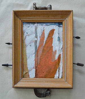Hammers And Clouds - Framed by Nancy Mauerman