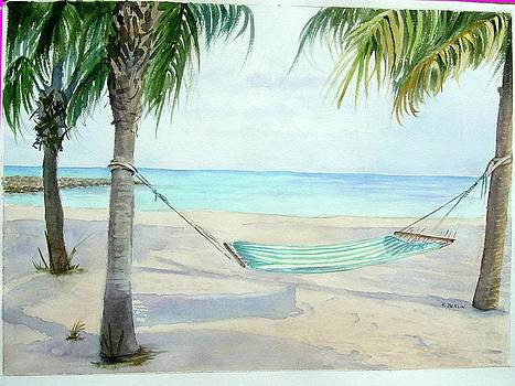 Hammock by Katherine  Berlin