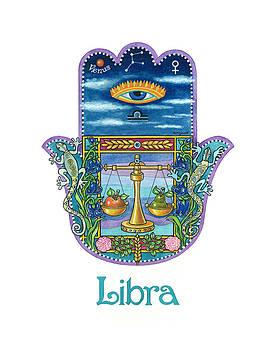 Hamsa for Libra by Nonna Mynatt