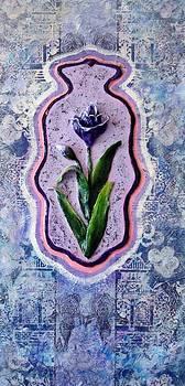 Hamsa Iris by Raya Finkelson