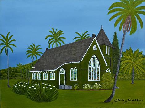 Hanalei Church Kauai by Clinton Cheatham