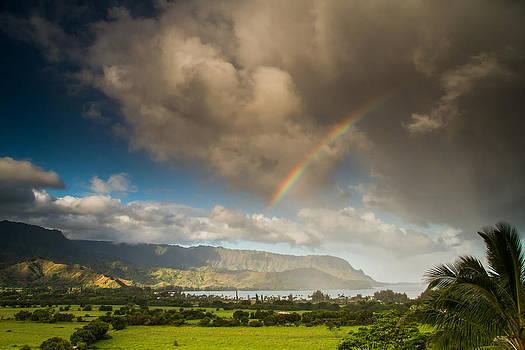 Roger Mullenhour - Hanalei Rainbow