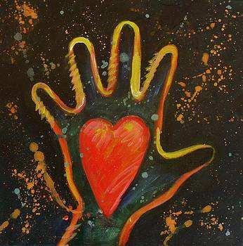Hand and Heart by Carol Suzanne Niebuhr