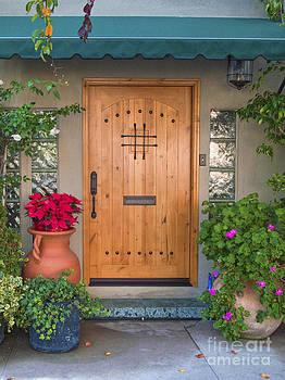 David Zanzinger - Hand Crafted Wooden Door