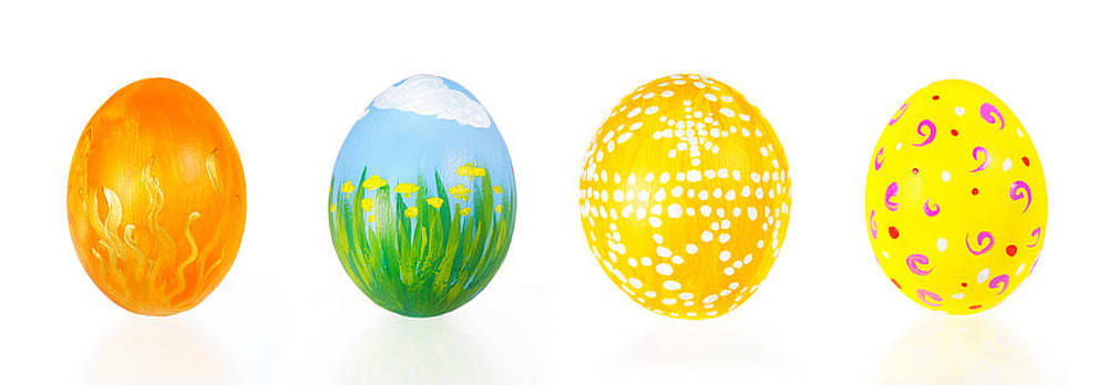 Jo Ann Snover - Hand painted Easter eggs