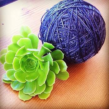 Hand Winding A Massive Ball Of #anzula by Lacie Vasquez