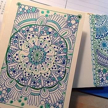 Handmade Cards by Elena Prikhodko knapp