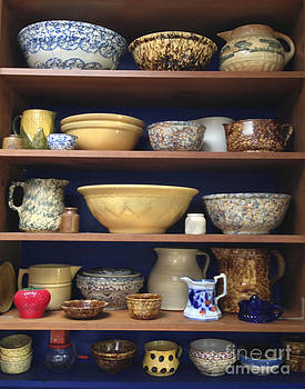 Handmade Ceramic Bowls Display by Iris Posner