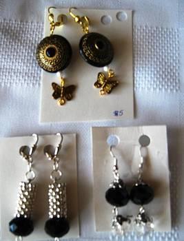 Handmade Earrngs by Fatima Pardhan