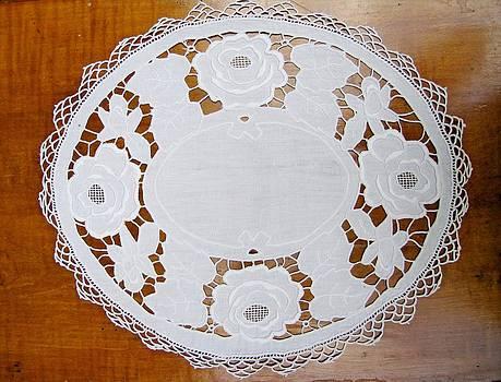 Handmade vintage embroidery by Florinel Nicolai Deciu