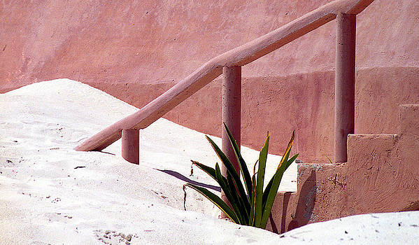 Handrail and Sand by Jack Thomas