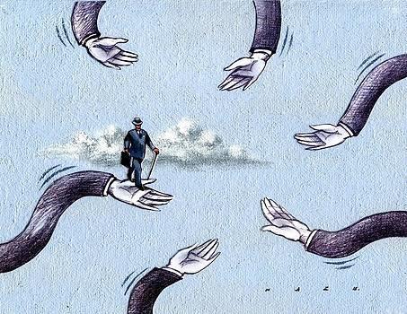 Hands #3 by Kazu Nitta