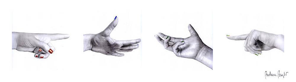 Hands by Barbara Bright