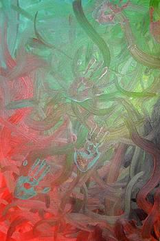 Hands Imprint by Corina Bishop