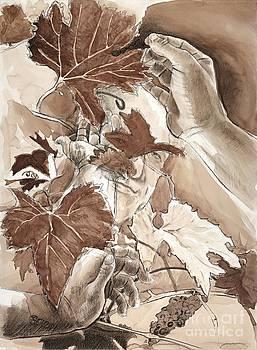 Hands of Dionysus by Steven  Nakamura