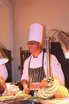 Sandra Pena de Ortiz - Handsome Serving Chef
