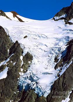 Hanging glacier by Kari Marttila