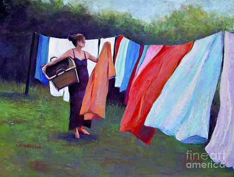 Hanging Laundry by Joyce A Guariglia