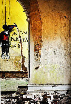 Hanging Mickey by Quirky Jen Photos