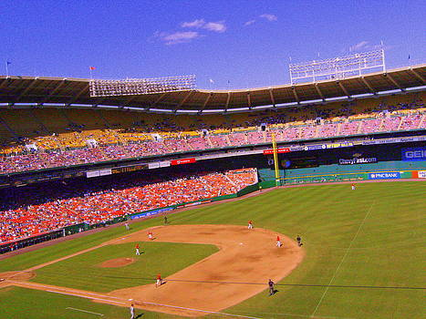 Hannah snaps the Braves vs Nats by Lee Altman