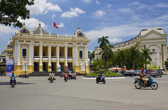 Venetia Featherstone-Witty - Hanoi Opera House Vietnam